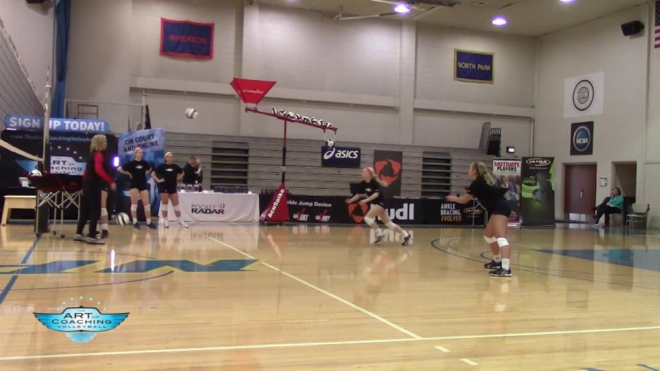 Two Ball Defensive Pursuit Drill In 2020 Coaching Volleyball Volleyball Drills Volleyball