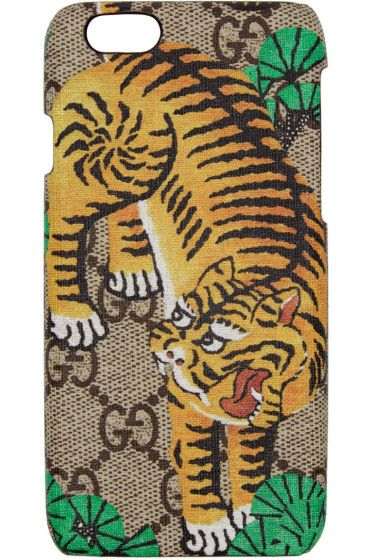 new arrival 962c9 d41d6 Gucci - Beige Tiger iPhone 6 Case | NEED | Iphone 7 cases, Iphone 7 ...
