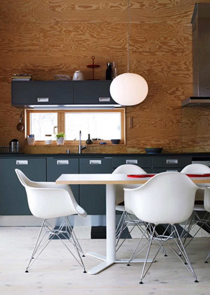 PS Arkitektur Cabin in Sweden dining room