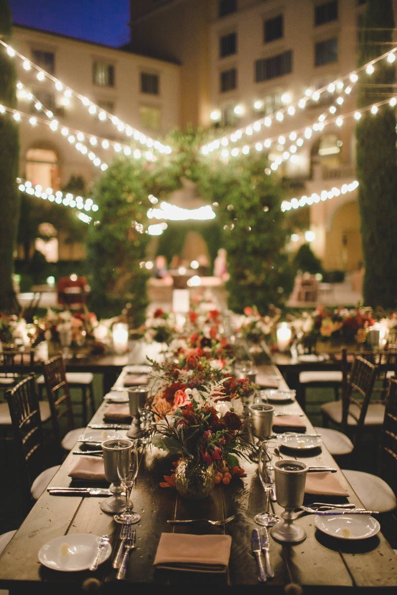 Hilton Lake Las Vegas Wedding Winery Inspired