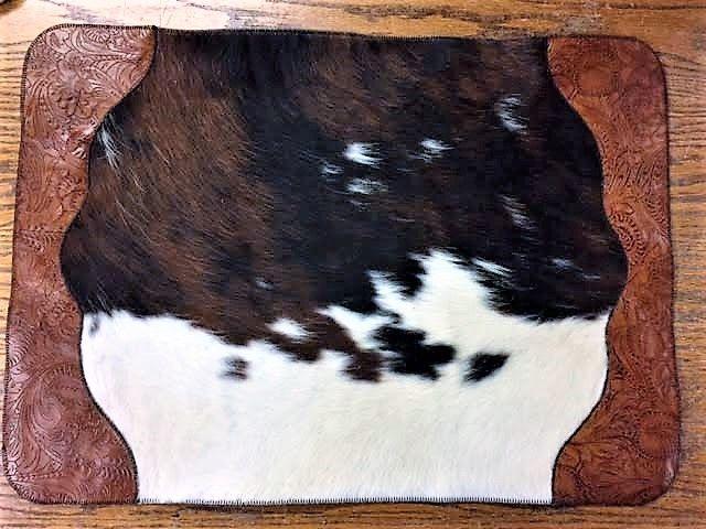 Leather 038 Cowhide Bathroom Rug Bathroom Rugs Rugs Western Bath Decor