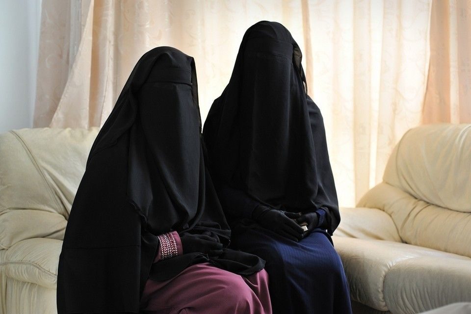 Lovely Niqabi Sisters