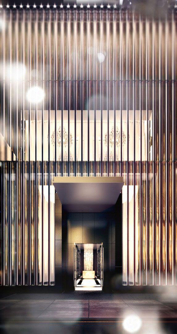 Fassade modern hotel  Yabu Pushelberg: Modern Hotel Inspirations | Hotels, Inspiration ...