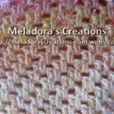 Thick Mesh / Brick Stitch Crochet Stitch