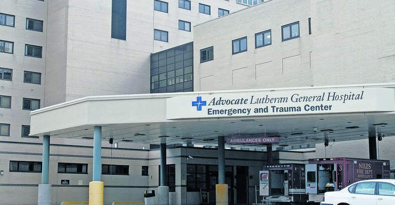 Advocate Lutheran General Hospital in Park Ridge is