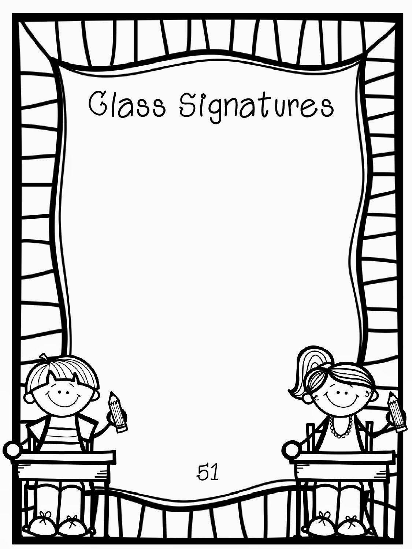 Frame Clipart For Kids Black And White