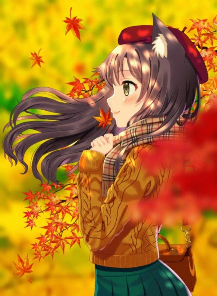 Schulmädchen Anime