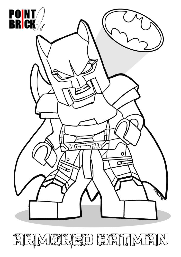 Disegni da Colorare Lego DC: Batman V Superman | Legos, Batman and ...