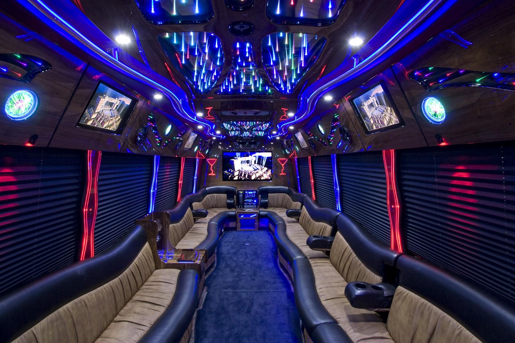 Avail the finest party bus rental services in miami for