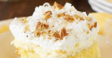 Hawaiian Dream Cake | Cake And Food Recipe #hawaiianfoodrecipes