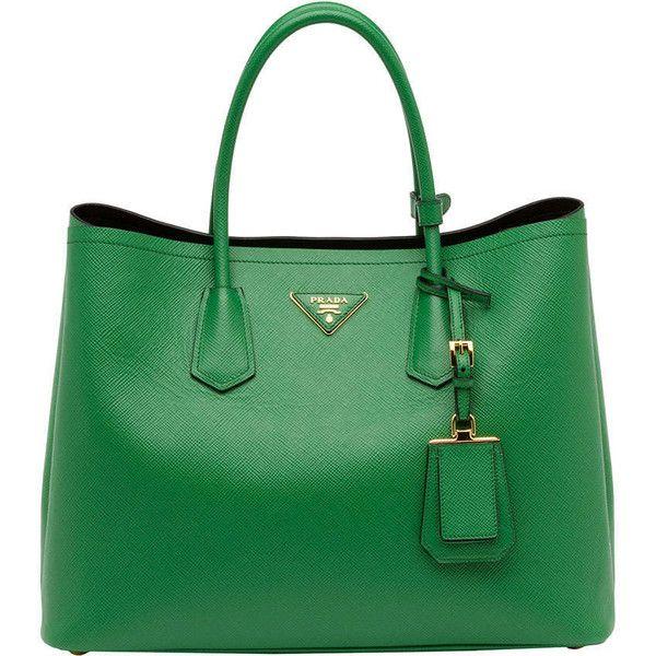 b2196c4b4634 Prada Saffiano Cuir Double Bag