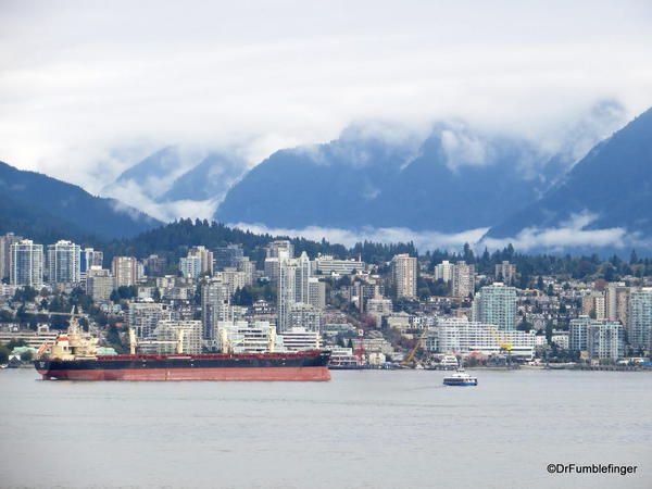 View of North Vancouver from Canada Place
