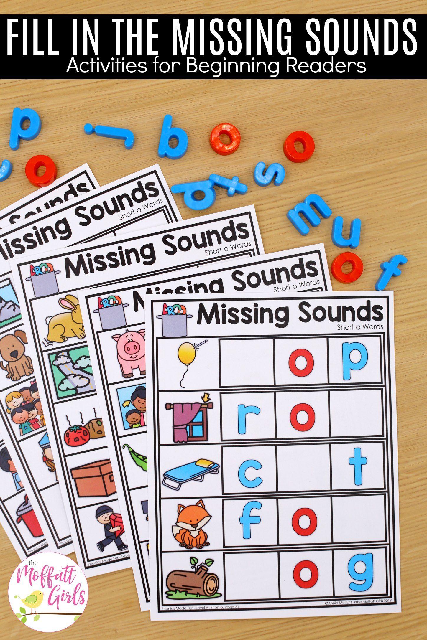 Phonics Made Fun Level A Short O Words Cvc Words