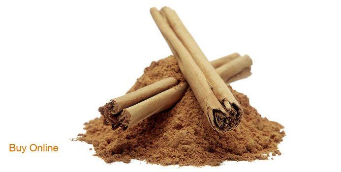 Put 1/4 tsp cinnamon in Shakeology with 1/2 c. milk 1/2 c