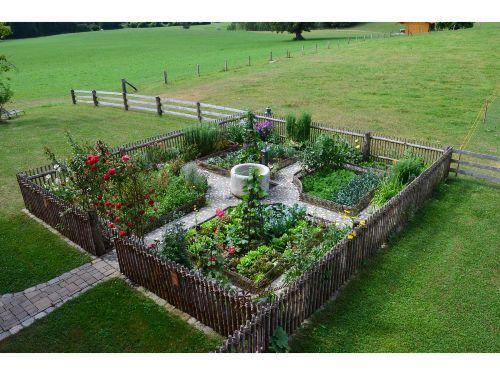 Bauerngarten anlegen beispiele  Unser Bauerngarten | Ideen für den Bauerngarten | Pinterest ...