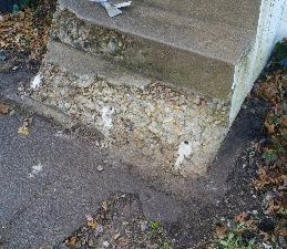 How To Repair Concrete Steps Stair How To Cement Diy Repairing