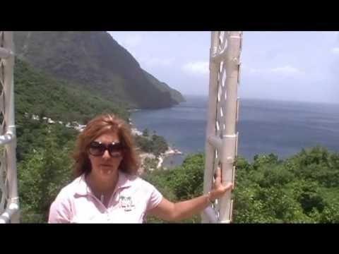St. Lucia Destination Wedding.wmv