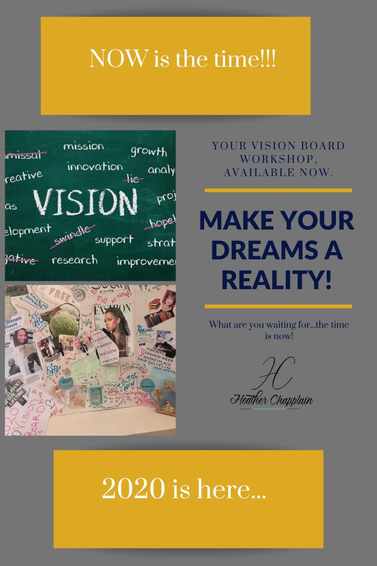 Vision Board Workshop And Setting Goals Vision Board Workshop Vision Board Setting Goals