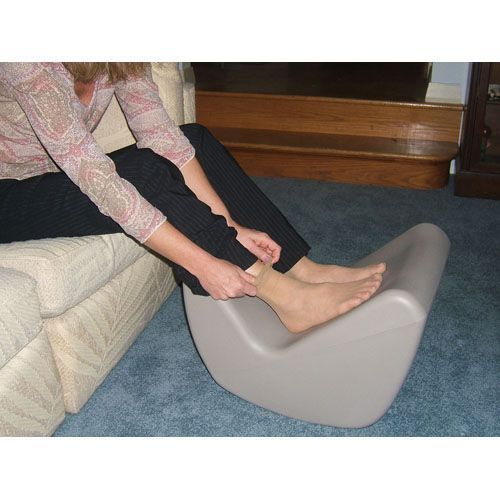 Fine The Soft Touch Tuffet Footstool Adaptive Household Aid Evergreenethics Interior Chair Design Evergreenethicsorg