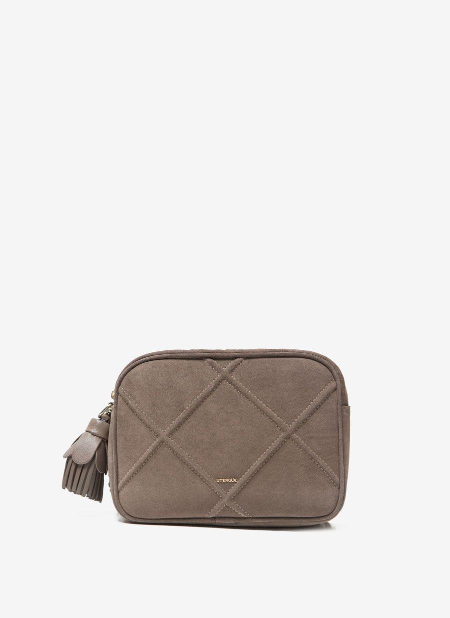 Bags Shopping España Uterqüe Bag Serraje Bolsos Bandolera qwP01Ix