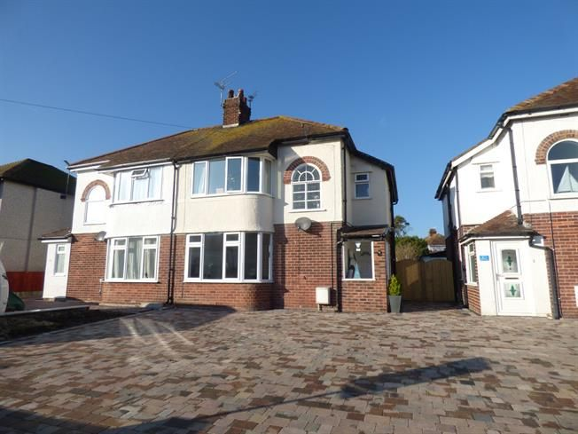 3 Bedroom Semi Detached House For Sale in Llandudno for Asking Price £220,000.