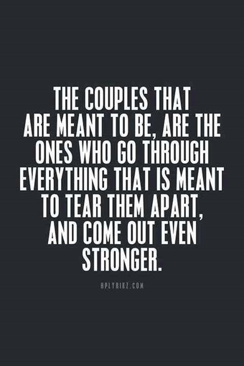 Stronger Quotes Strong Couples  My Board  Pinterest  Couples Relationships And .