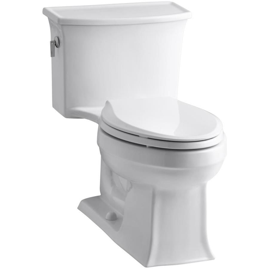 Kohler Archer White Watersense Labeled Elongated Standard Height 1 ...