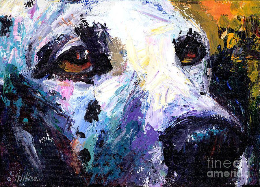 Dalmatian Dog Painting By Svetlana Novikova Dog Paintings