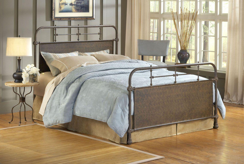 Hillsdale kensington bed set queen rails not included