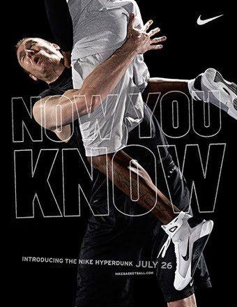 Nike Hyperdunk Ad Design Nike Shoes Nike Ad Sport Poster Design