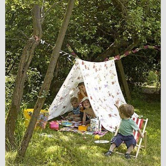 Photo of outdoor tent