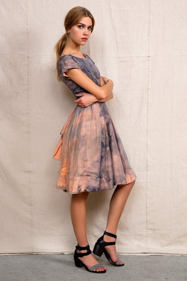 76288d20d92d Rough And Tumble Vintage Sunset Dress
