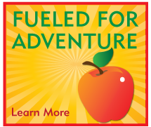 Fueled for Adventure occurs every Thursday at 3:30 in the Red Rocket Cafe! Come make a Healthy Snack with us!  (Sponsored by St. Dominic Health Services)