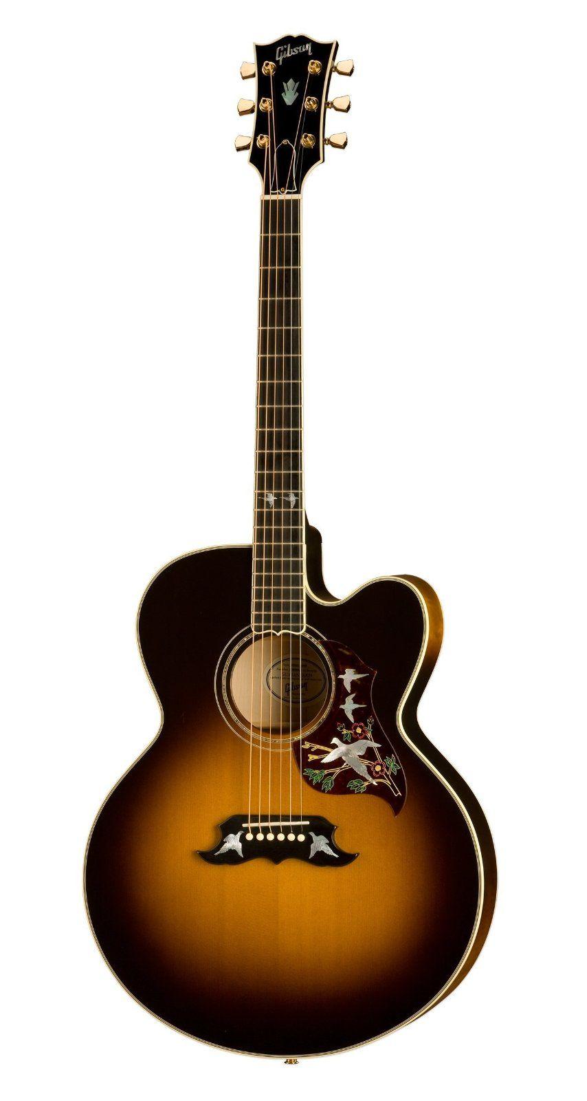 Gibson Super Dove Acoustic Electric Guitar Vintage Sunburst Amazon Musical Instruments Guitar Acoustic Electric Guitar Acoustic Electric