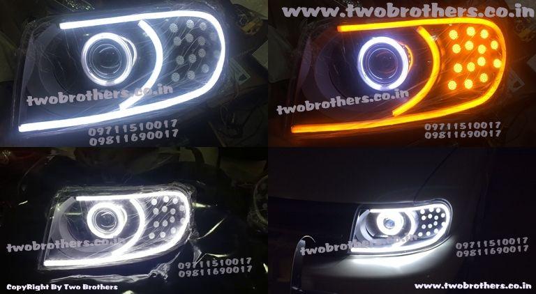 Projector Lens Car Headlights Robotic Eye Shark Eye Light Car