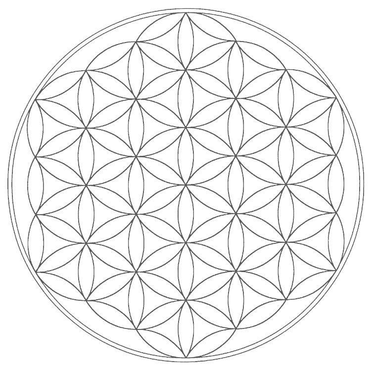 CG Sacred Geometry Free Mandala Templates – Elements of Music Worksheet