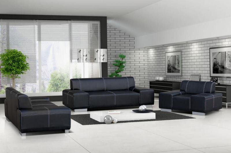 Vicenza 3 2 Leather Sofa Suite In Black Brown Or Red Faux Leather Sofa Leather Sofa Black Leather Sofas
