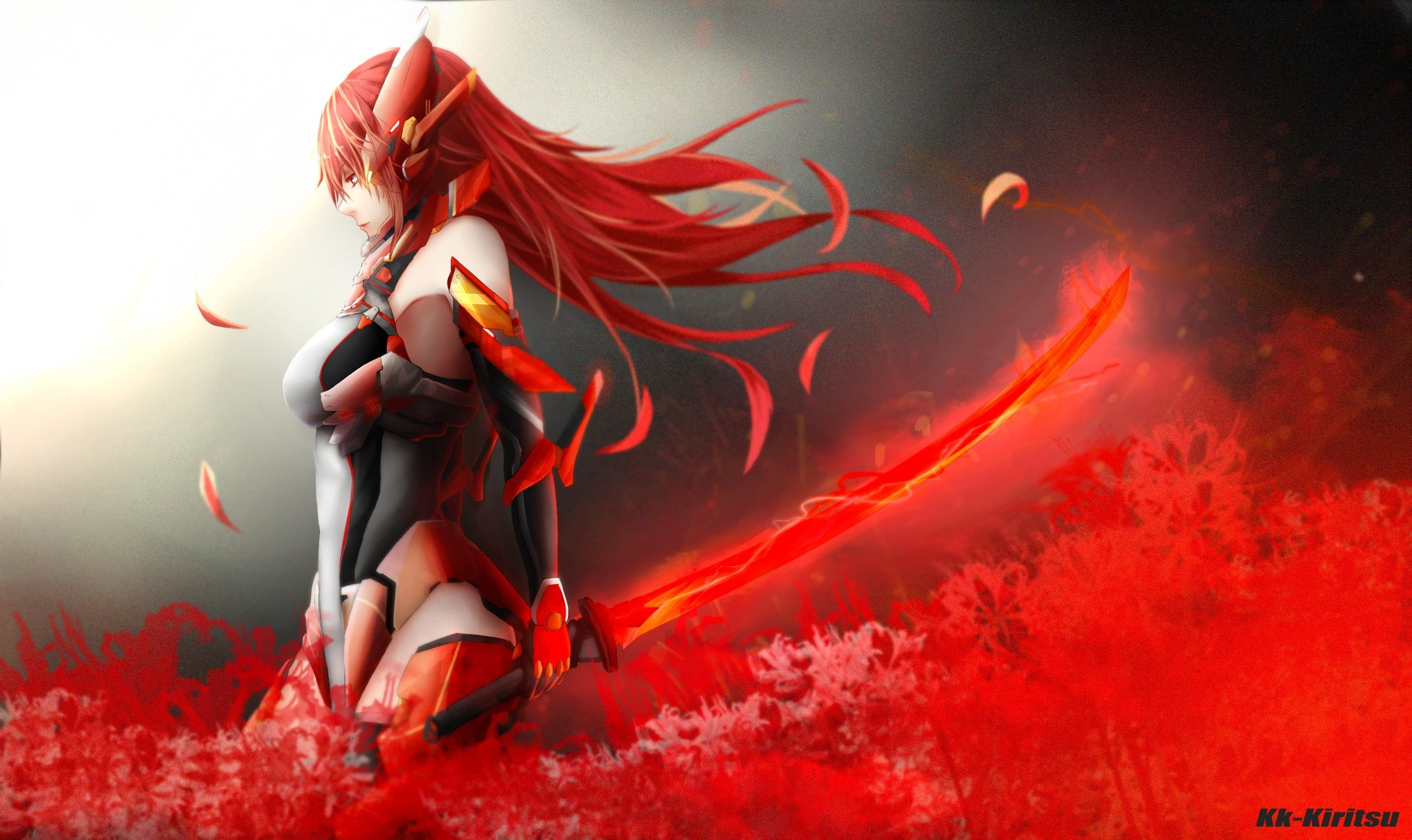 Pin On Anime Anime red wallpaper 1920x1080