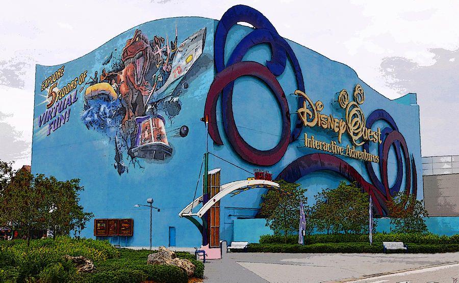 Mais uma mudança no Disney World Resort. Vem saber qual é a da vez no post do dia! http://disney4all.blogspot.com/2015/07/disney-quest-da-seus-ultimos-suspiros.html