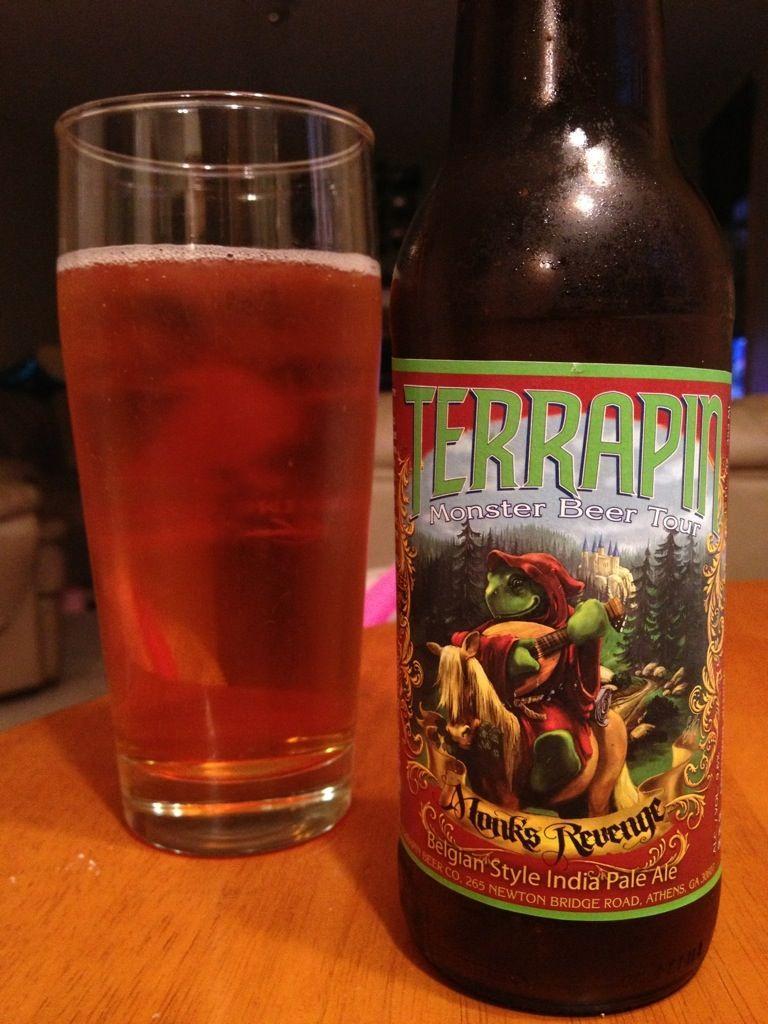 594. Terrapin Beer Co - Monk's Revenge Belgian Style India Pale Ale 2012