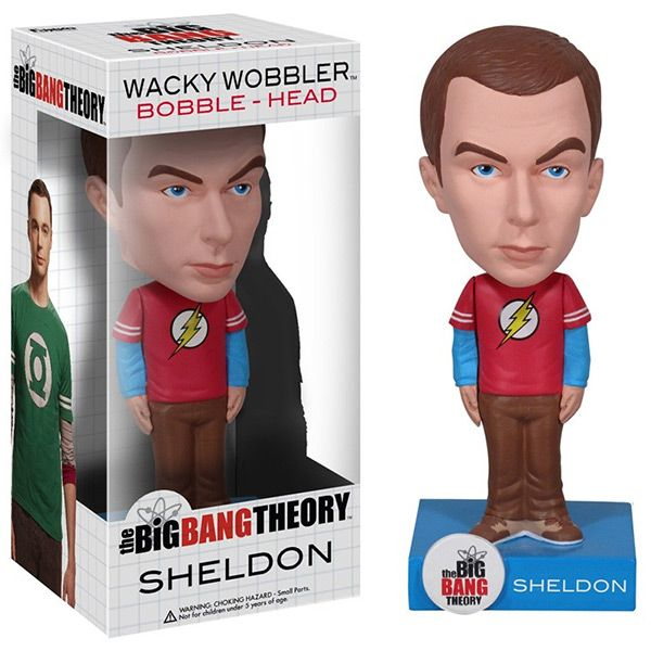 The Big Bang Theory Sheldon Cooper Bobblehead