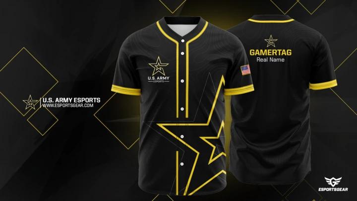 U.S Army Baseball Jersey