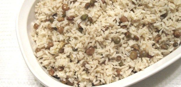 Gang Peas and Rice (Cayman Islands) Recipe   http://bacchanalfever.com/gang-peas-and-rice-cayman-islands/