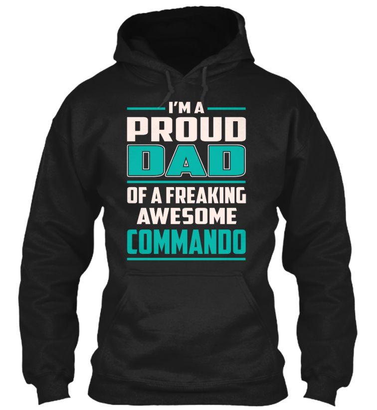 Commando - Proud Dad #Commando