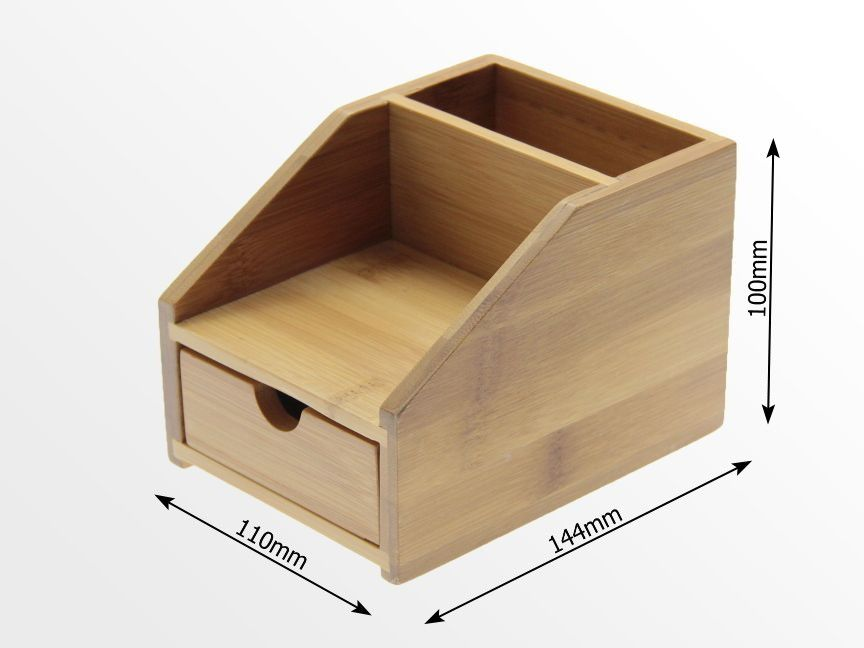 Small Desk Organiser With Drawer Small Desk Tidy Office Supplies Small Desk Organization Small Desk Desk Organization