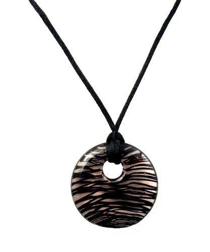 Fleur-de-lis w//Black CZ JewelryVolt Stainless Steel Casting Dog Tag Pendant w//Ball Chain