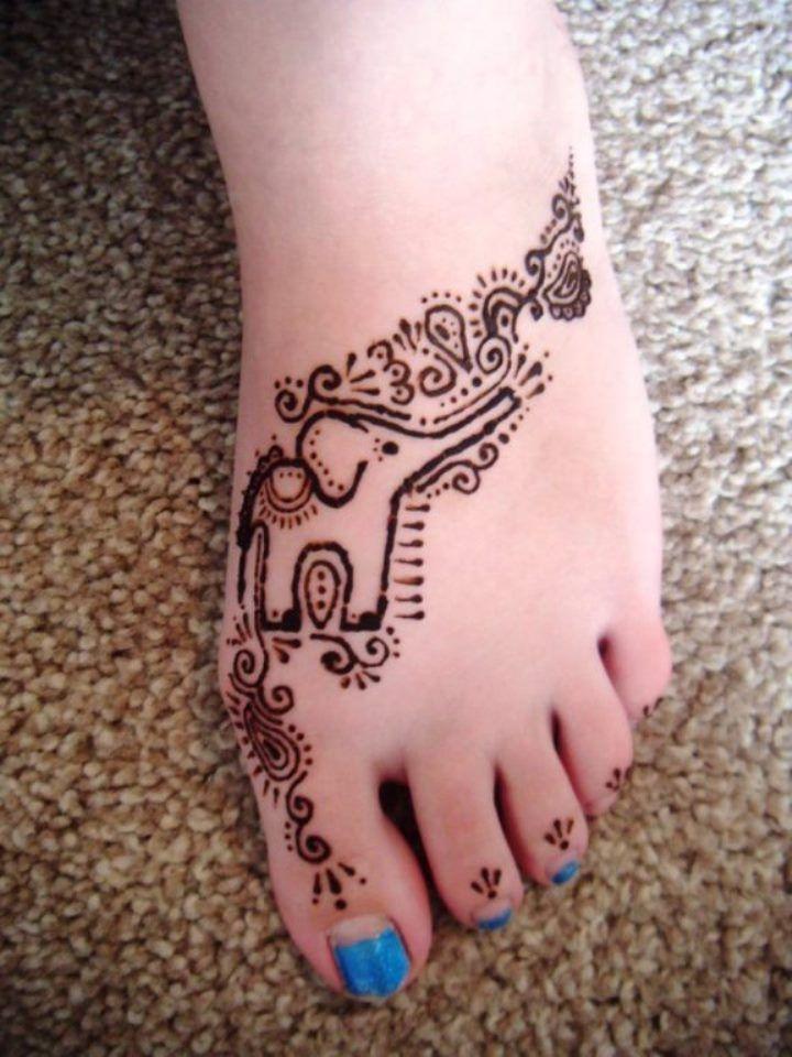 Elephant Tattoos Cool Designs Henna Elephant Tattoos Elephant