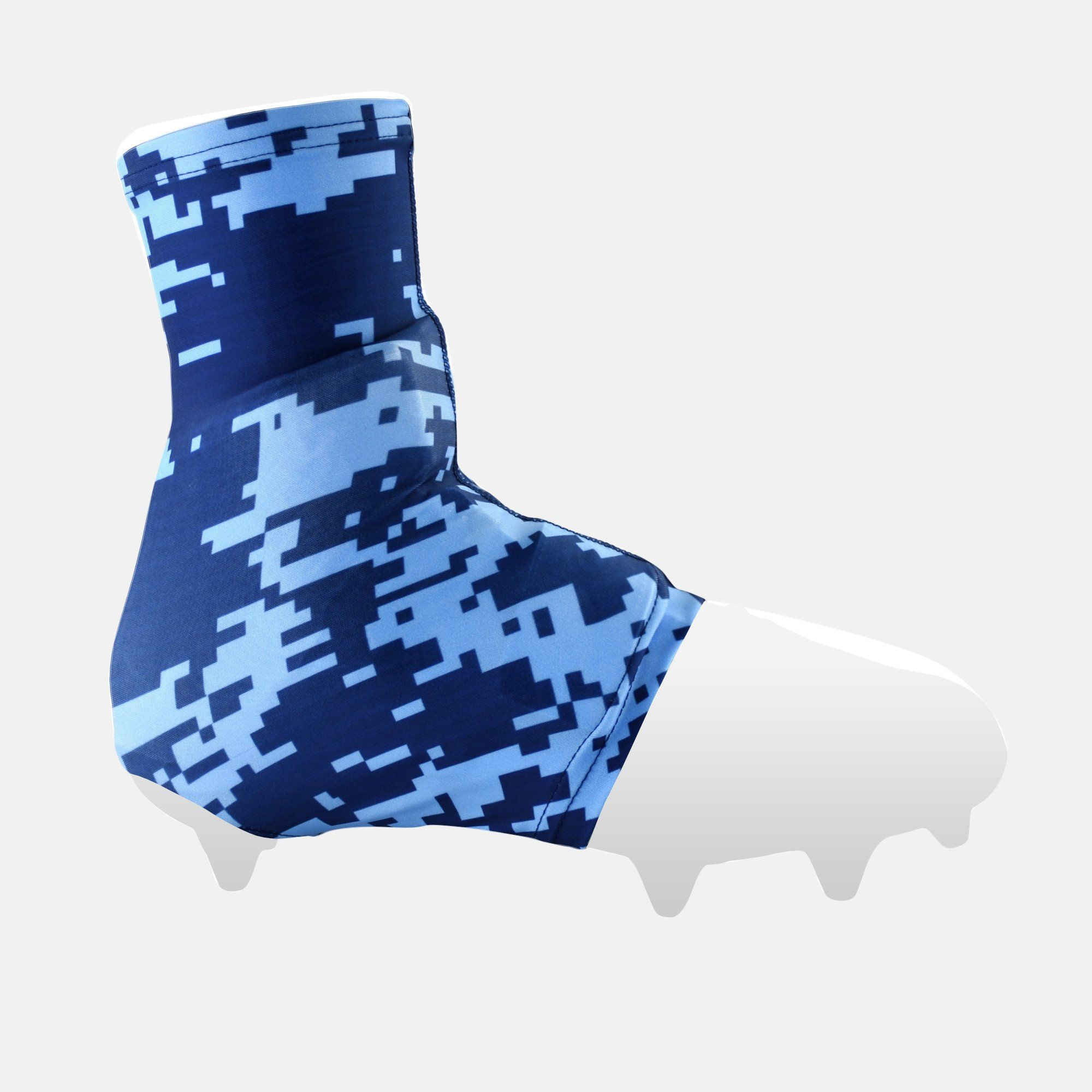 Digital Camo Navy Blue Spats / Cleat Covers | Cleats, Digital camo ...