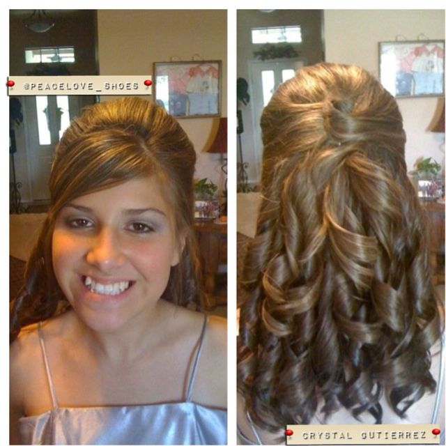 The 25 Best Sweet 15 Hairstyles Ideas On Pinterest
