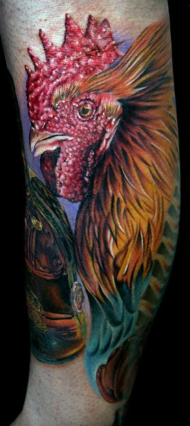 fighting rooster by tat2istcecil on deviantart tattoos rh pinterest com fighting rooster tattoo meaning fighting rooster tattoo images